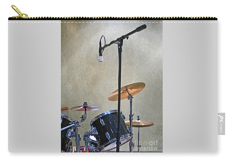 Music Carry-all Pouch featuring the photograph Drummers Joy by Ann Horn