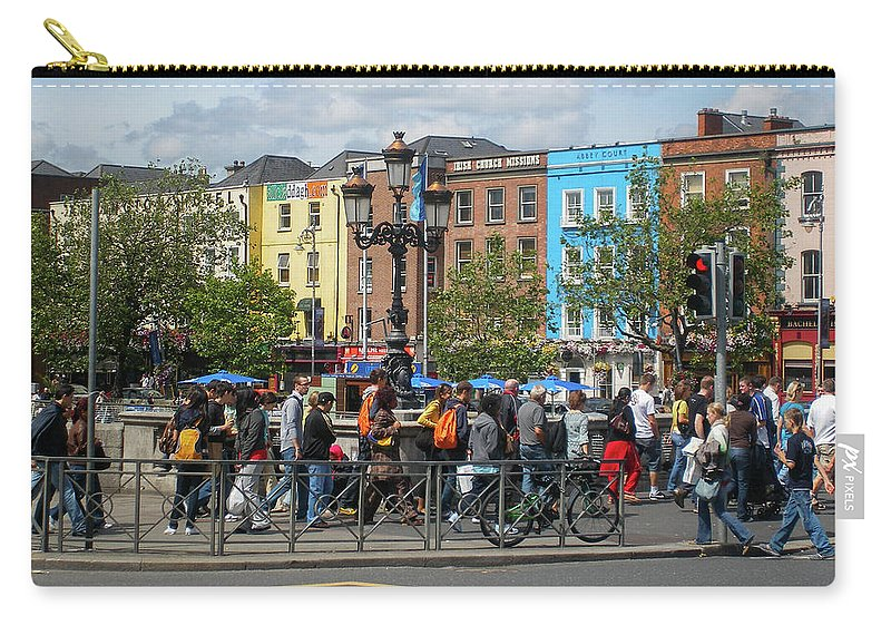 Ireland Carry-all Pouch featuring the photograph Dublin Day by Aaron Geraud