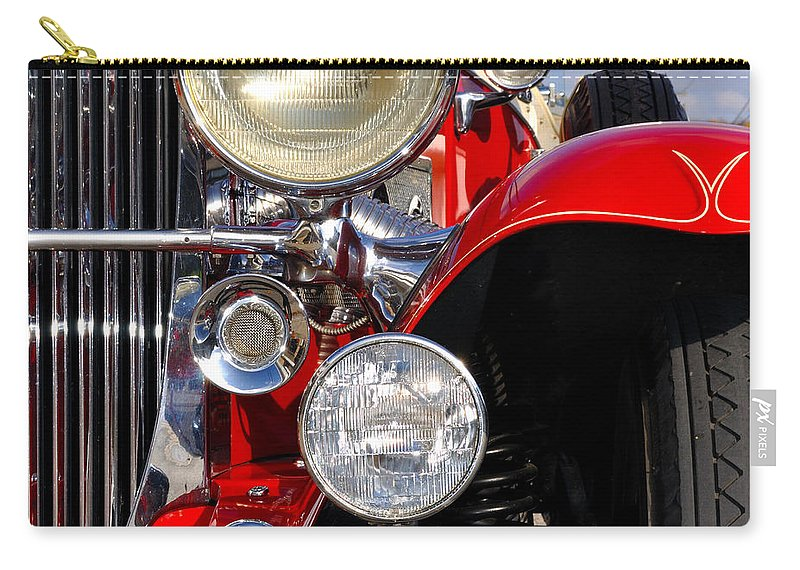 Car Carry-all Pouch featuring the photograph Duesenberg by Tim Nyberg