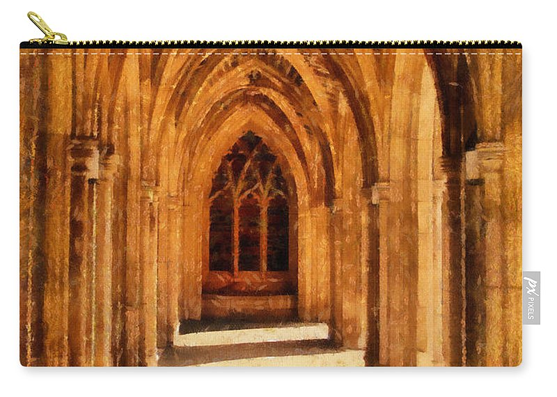 Duke University Carry-all Pouch featuring the photograph Duke Chapel by Betsy Foster Breen