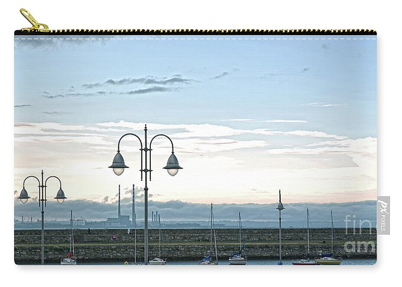 Dun Laoghaire Carry-all Pouch featuring the photograph Dun Laoghaire 2 by Alex Art and Photo