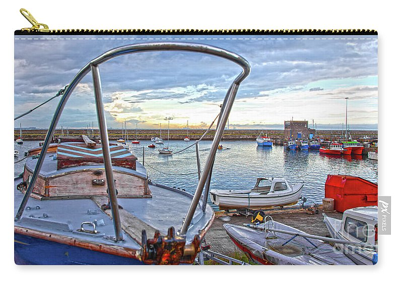 Dun Laoghaire Carry-all Pouch featuring the photograph Dun Laoghaire 25 by Alex Art and Photo