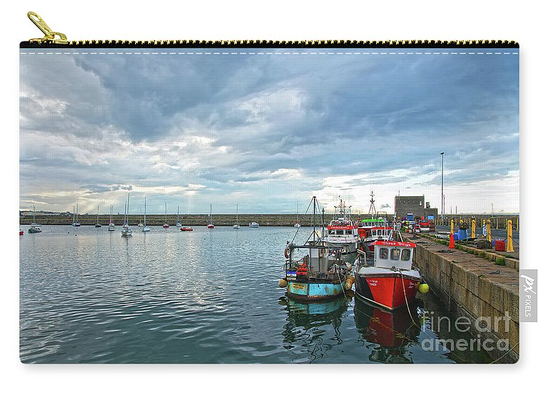 Dun Laoghaire Carry-all Pouch featuring the photograph Dun Laoghaire 28 by Alex Art and Photo