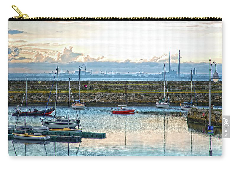 Dun Laoghaire Carry-all Pouch featuring the photograph Dun Laoghaire 3 by Alex Art and Photo