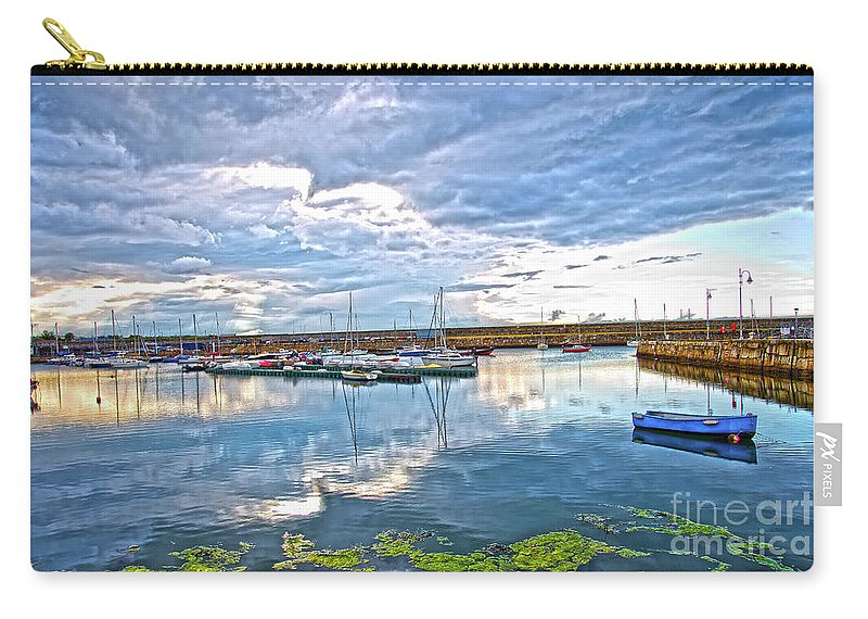 Dun Laoghaire Carry-all Pouch featuring the photograph Dun Laoghaire 37 by Alex Art and Photo