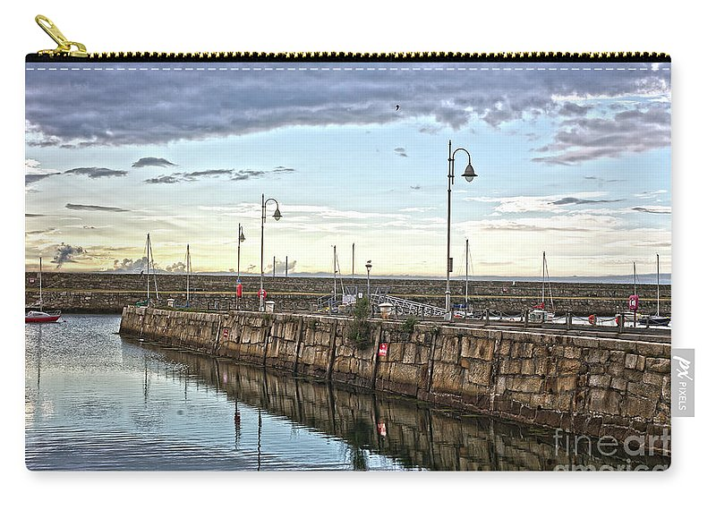 Dun Laoghaire Carry-all Pouch featuring the photograph Dun Laoghaire 38 by Alex Art and Photo