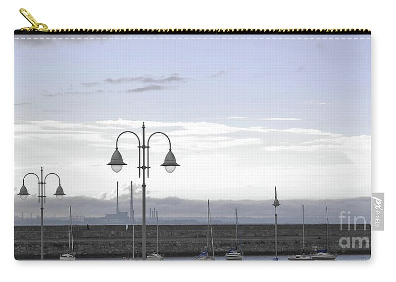 Dun Laoghaire Carry-all Pouch featuring the photograph Dun Laoghaire 42 by Alex Art and Photo