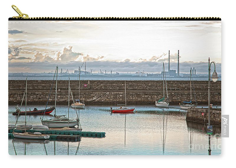 Dun Laoghaire Carry-all Pouch featuring the photograph Dun Laoghaire 5 by Alex Art and Photo
