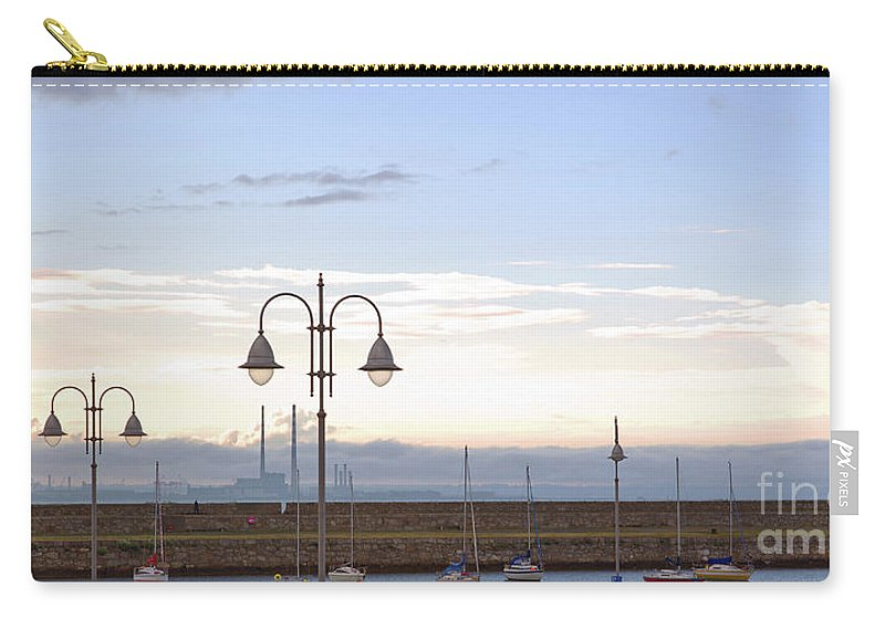 Dun Laoghaire Carry-all Pouch featuring the photograph Dun Laoghaire 53 by Alex Art and Photo