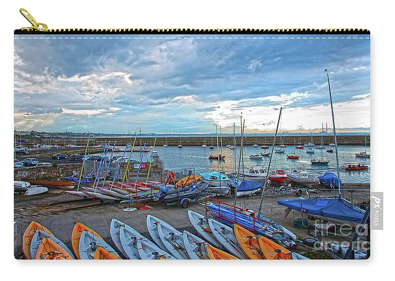 Dun Laoghaire Carry-all Pouch featuring the photograph Dun Laoghaire 8 by Alex Art and Photo