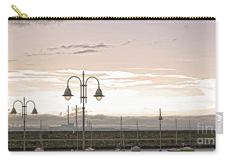 Dun Laoghaire Carry-all Pouch featuring the photograph Dun Laoghaire by Alex Art and Photo