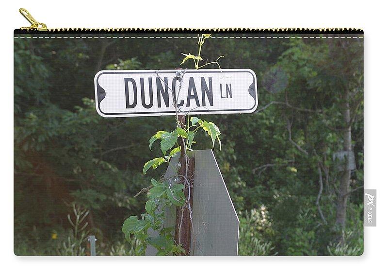 Rural Carry-all Pouch featuring the photograph Duncan Ln by Bjorn Sjogren