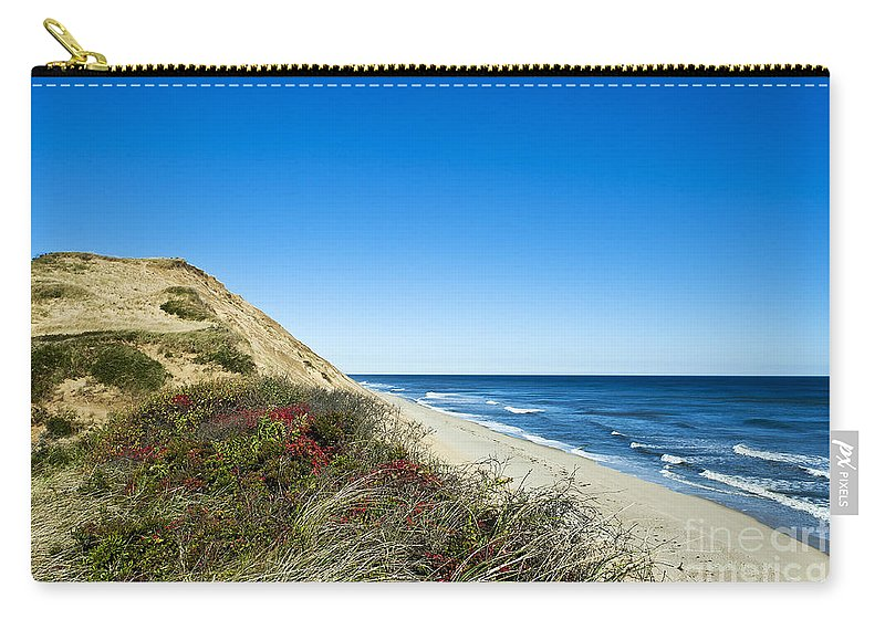 Beach Carry-all Pouch featuring the photograph Dune Cliffs And Beach by John Greim