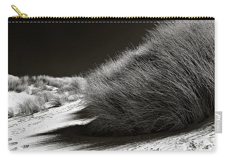Dune Carry-all Pouch featuring the photograph Dune Grass by Dave Bowman