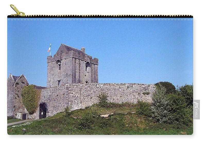 Irish Carry-all Pouch featuring the photograph Dunguaire Castle Kinvara Ireland by Teresa Mucha
