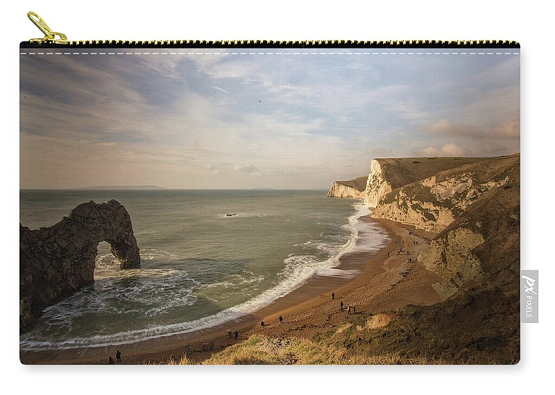 Durdle Door Carry-all Pouch featuring the photograph Durdle Door by Ceri Jones