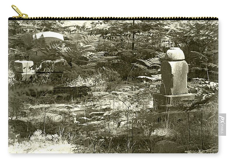 Cemetery Carry-all Pouch featuring the photograph Dust To Dust by Scott Ward