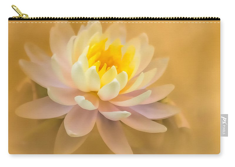 Flower Carry-all Pouch featuring the photograph Dusty Elegance by Cheryl Frischkorn