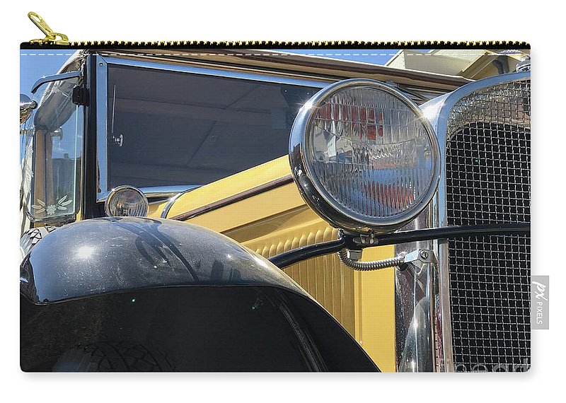 Ford Carry-all Pouch featuring the photograph Dusty Old Ford by Steven Parker