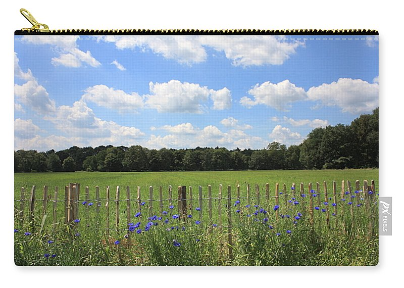 The Netherlands Carry-all Pouch featuring the photograph Dutch Blue by Carol Groenen