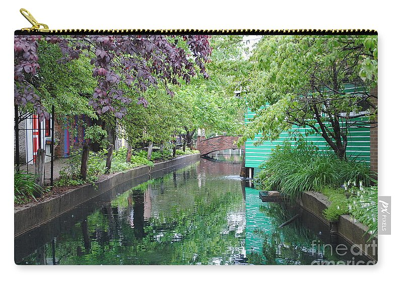 Dutch Carry-all Pouch featuring the photograph Dutch Canal by Jost Houk