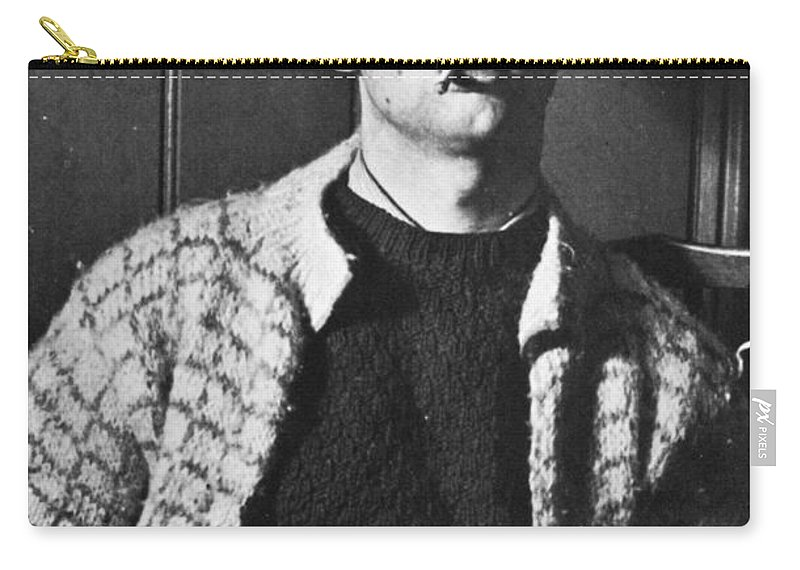20th Century Carry-all Pouch featuring the photograph Dylan Thomas (1914-1953) by Granger