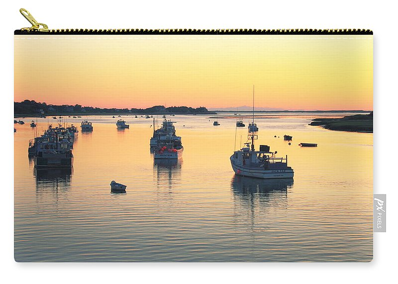 Chatham Carry-all Pouch featuring the photograph Early Morning In Chatham Harbor by Roupen Baker
