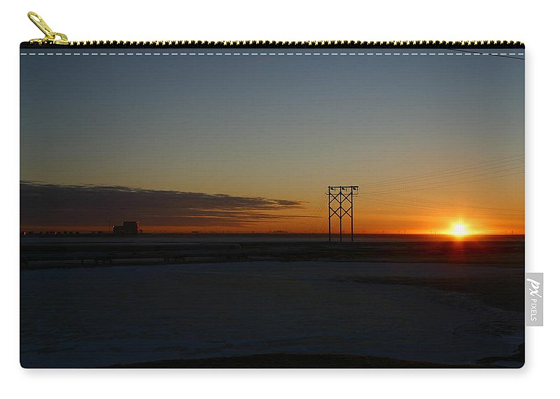 Sunrise Carry-all Pouch featuring the photograph Early Morning Sunrise by Anthony Jones