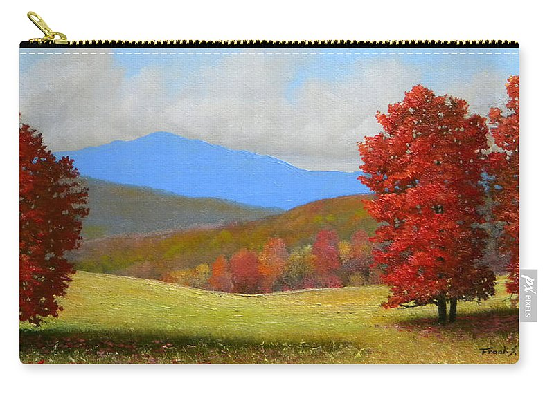 Autumn Carry-all Pouch featuring the painting Early September by Frank Wilson