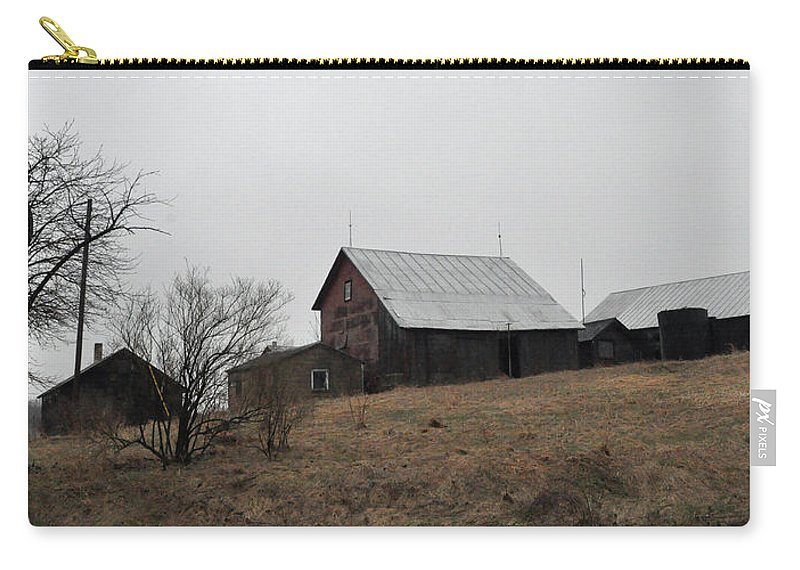 Farm Carry-all Pouch featuring the photograph Early Spring Farm by Tim Nyberg