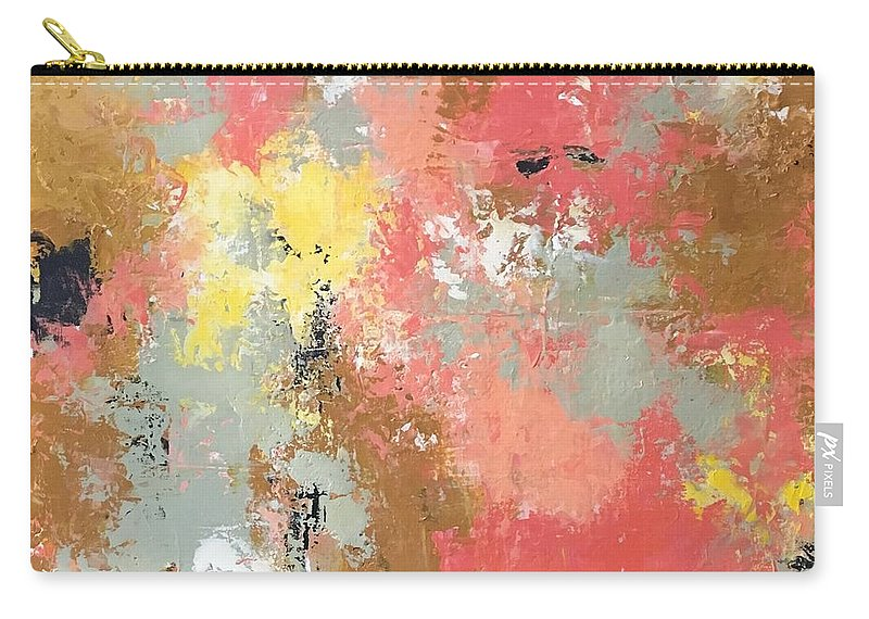 Carry-all Pouch featuring the painting Early Spring by Suzzanna Frank
