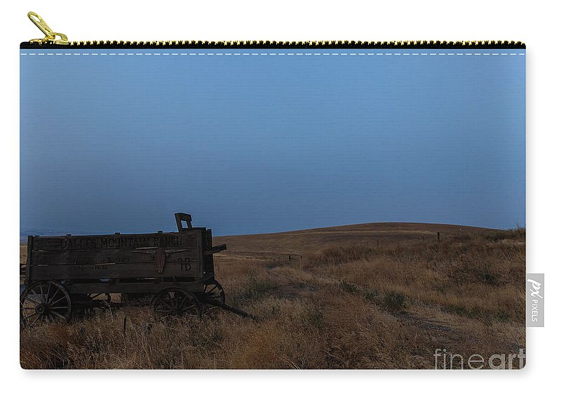 Wagon Carry-all Pouch featuring the photograph Early Start by Peter Ramirez