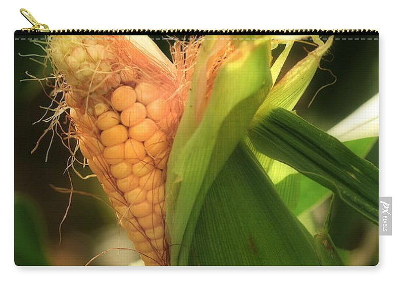 Farm Carry-all Pouch featuring the photograph Ear's To You Corn by Angela Rath
