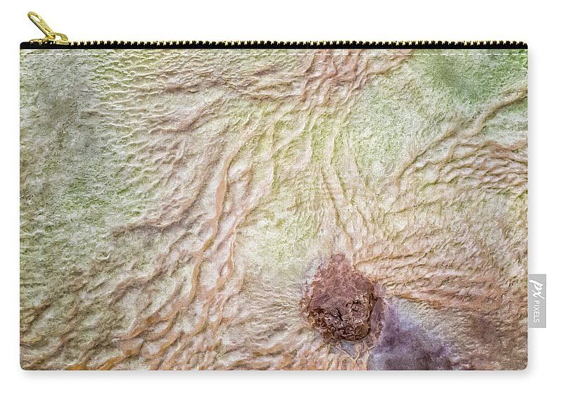 Iceland Carry-all Pouch featuring the photograph Earth Art 9495 by Karen Celella