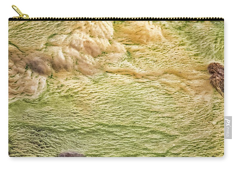 Iceland Carry-all Pouch featuring the photograph Earth Art 9509 by Karen Celella
