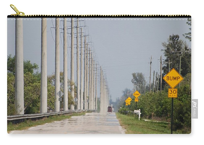 Trees Carry-all Pouch featuring the photograph East Bound And Down by Rob Hans