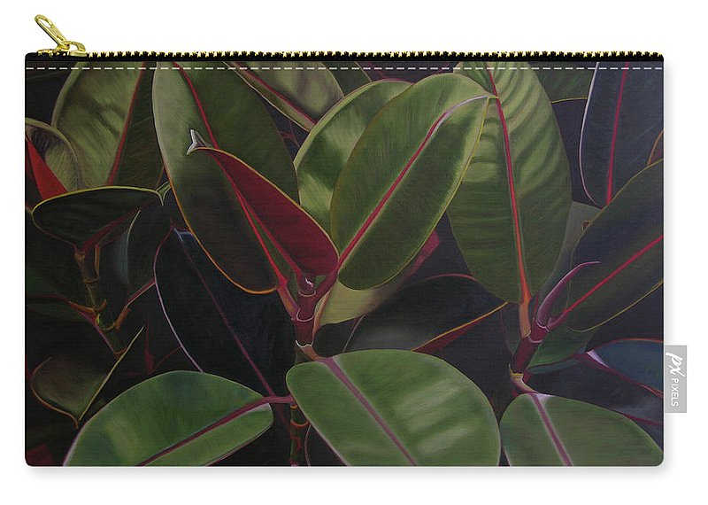 Landscape Carry-all Pouch featuring the painting Easter Sunday by Thu Nguyen