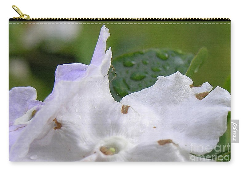 Flower Carry-all Pouch featuring the photograph Easter Surprise by Richard Rizzo