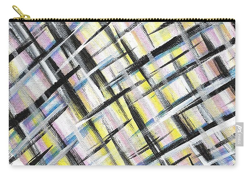 Easter Carry-all Pouch featuring the painting Easter Weave by Eric Atherton