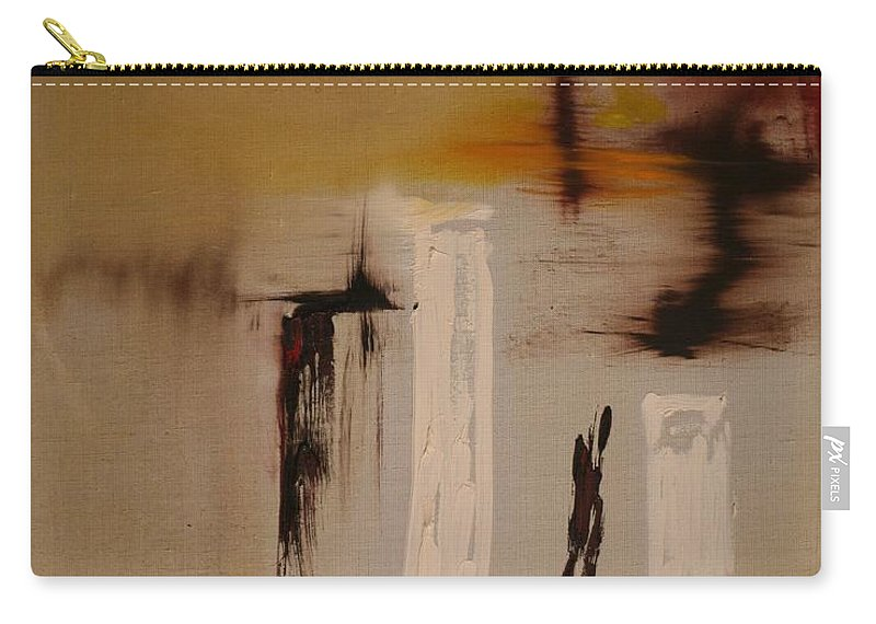 Abstract Carry-all Pouch featuring the painting Easy by Jack Diamond