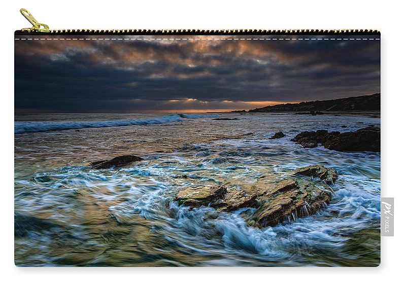 California Carry-all Pouch featuring the photograph Ebb And Flow II by Rick Berk
