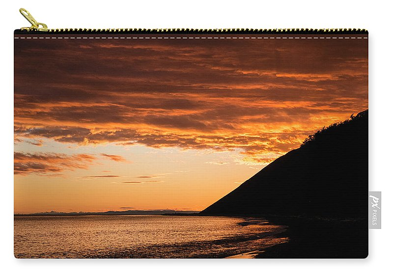 Ebey's Landing Carry-all Pouch featuring the photograph Ebey's Landing by Mary Lee Dereske