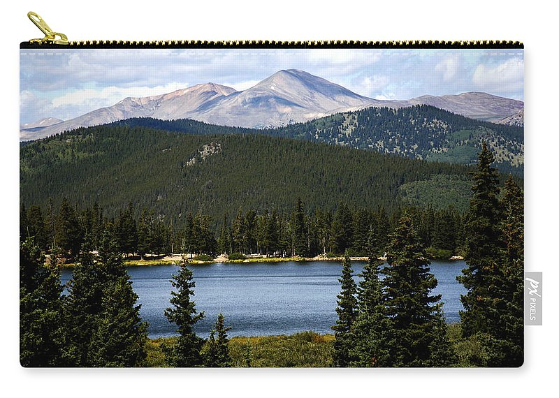 Colorado Carry-all Pouch featuring the photograph Echo Lake Colorado by Marilyn Hunt