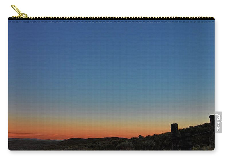 Eclipse Carry-all Pouch featuring the photograph Eclipsed by Bonfire Photography