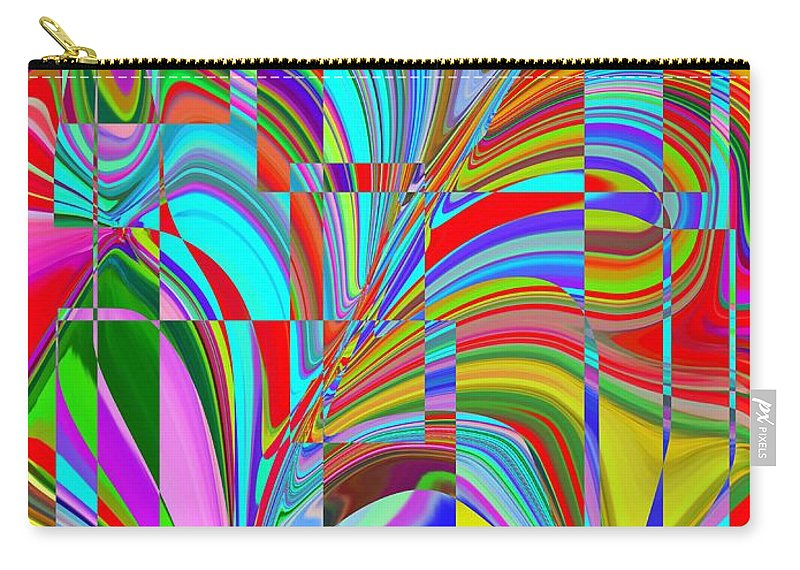 Abstract Carry-all Pouch featuring the digital art Ecstasy by Tim Allen