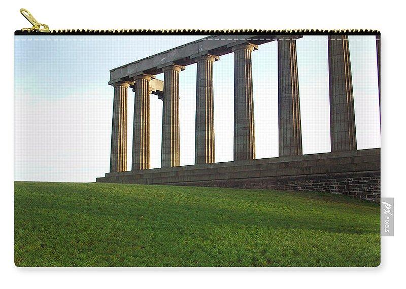 Scotland Carry-all Pouch featuring the photograph Edinburgh - Caption Hill by Munir Alawi