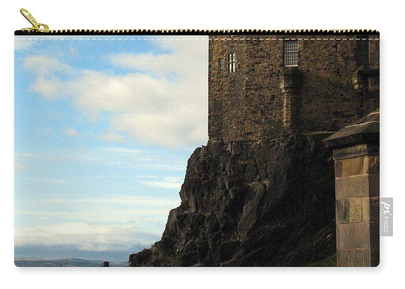 Castle Carry-all Pouch featuring the photograph Edinburgh Castle by Amanda Barcon