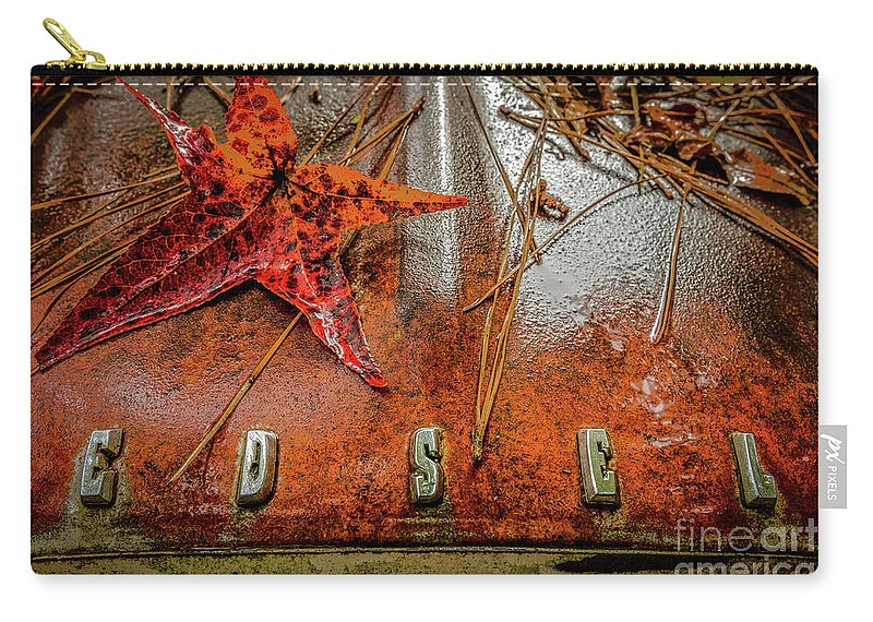Edsel Carry-all Pouch featuring the photograph Edsel by Doug Sturgess