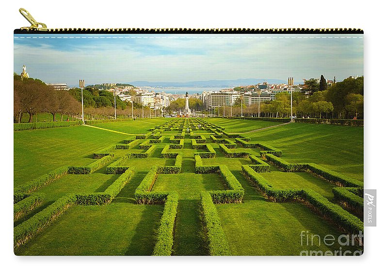 Garden Carry-all Pouch featuring the photograph Edward Vii Park by Carlos Caetano