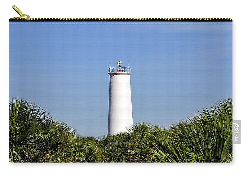 Fine Art Photography Carry-all Pouch featuring the photograph Egmont Key Florida by David Lee Thompson